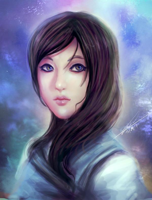 Portrait for Banshee-me by BartonDH
