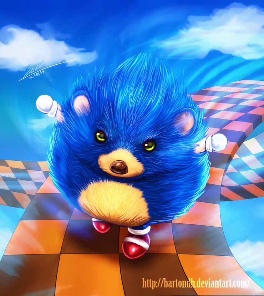 Sonic the Hedgehog Fanart by BartonDH