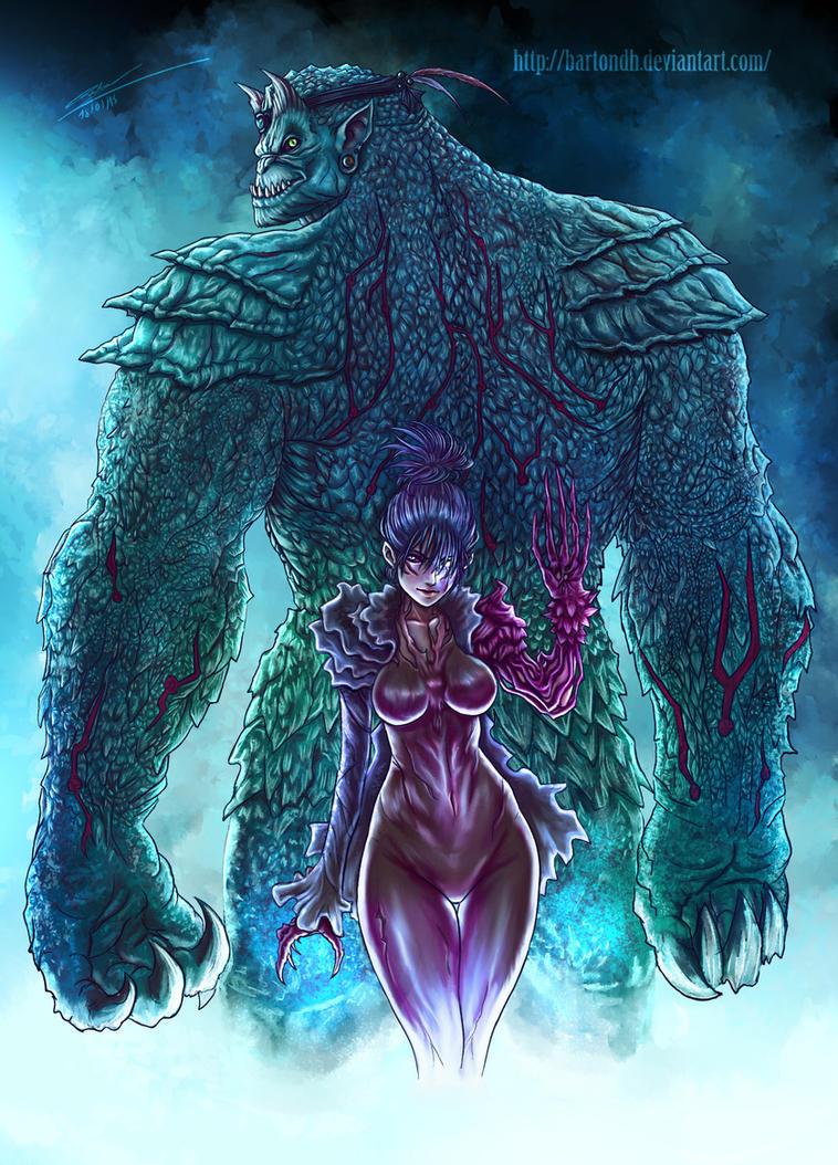 Demons ( Original Characters ) by BartonDH