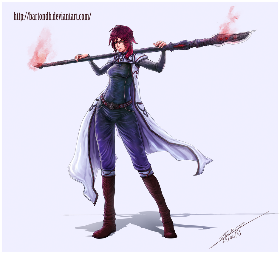 Dianne ( Original Character ) by BartonDH