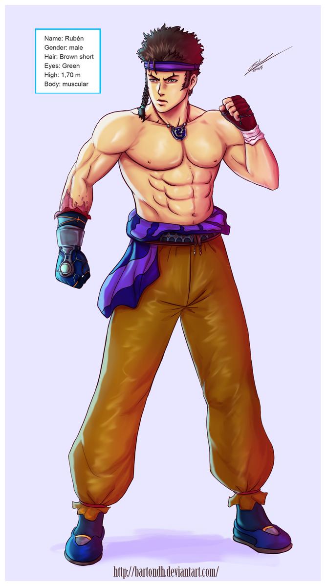 Tagg Challenge ( Original Character ) by BartonDH