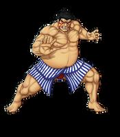 E. Honda Street Fighter 2 by BartonDH
