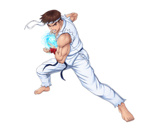Ryu Street Fighter Alpha by BartonDH