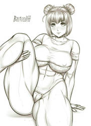 Commission KaminaTamotsu 35 by BartonDH