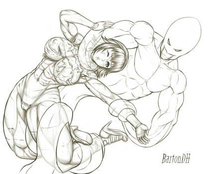 Commission KaminaTamotsu 41 by BartonDH
