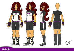Reference Sheet- Debbie by Comical-Weapon