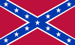 Confederate States Navy Naval Jack 1863-1865