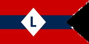 Confederate Cavalry Swallowtail standard