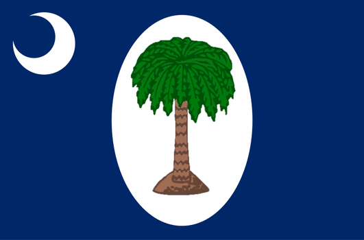 South Carolina - Two-Day Flag (Late Jan., 1861)