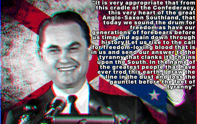 George Wallace on the South