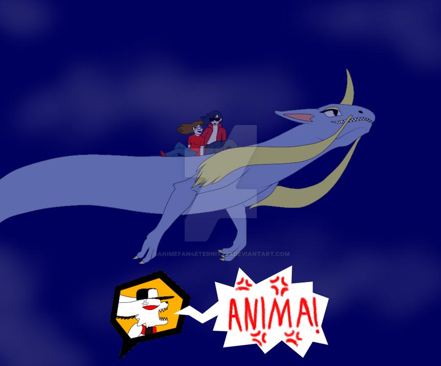 Anima Steals McLovin Away - Normal Version by AnimeFan4Eternity23