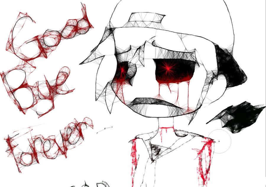 Goodbye... by red-Ricochet