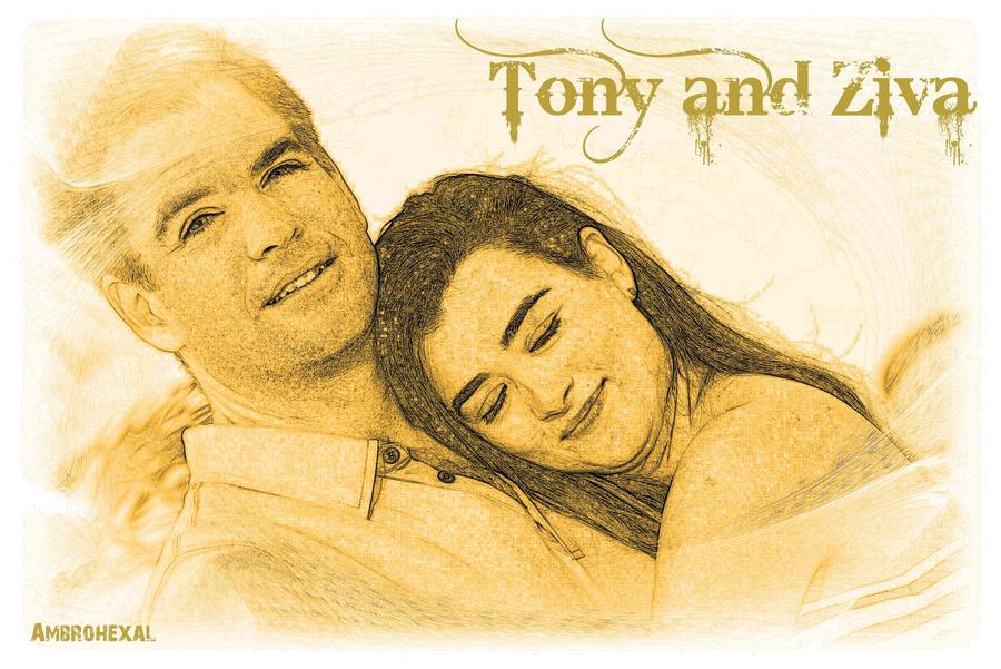 Tony and Ziva x3 by Ambrohexal