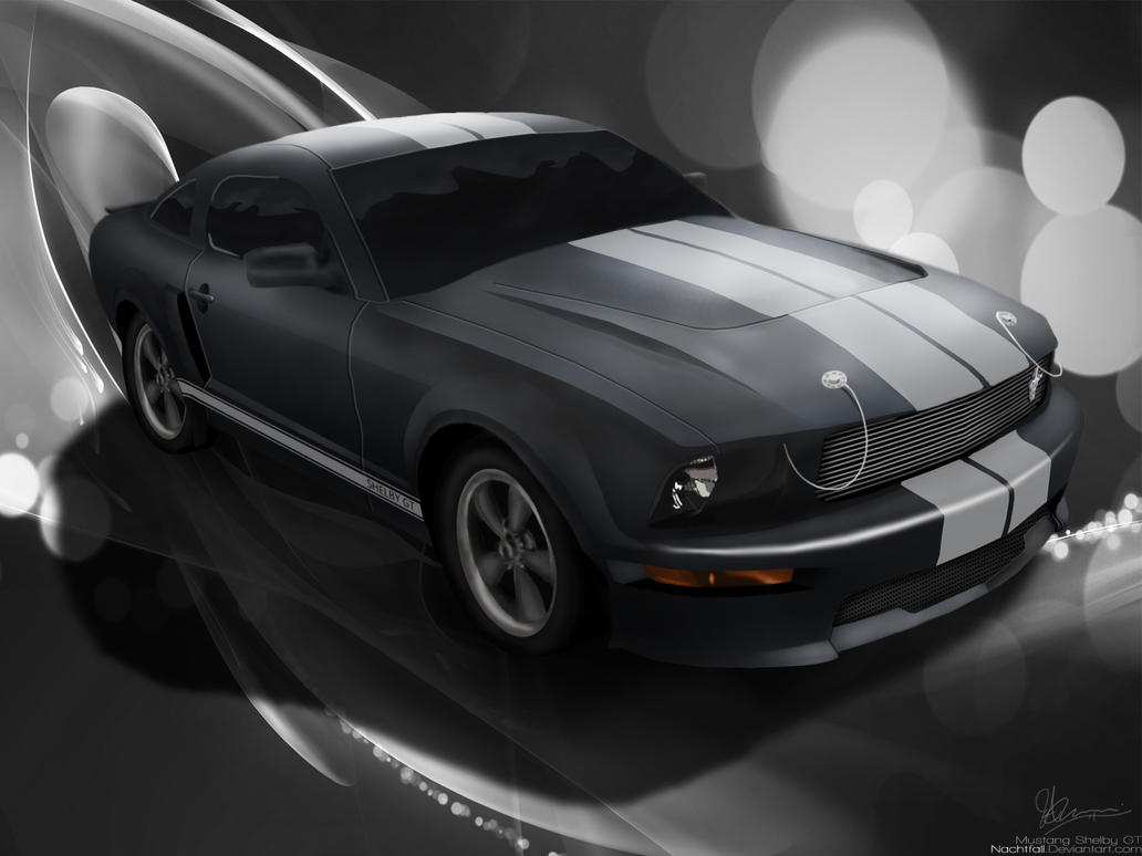 Mustang Shelby GT by Nachtfall