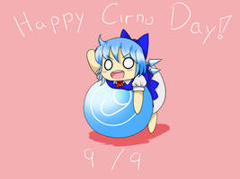 Happy Cirno Day by Uzumakitenma