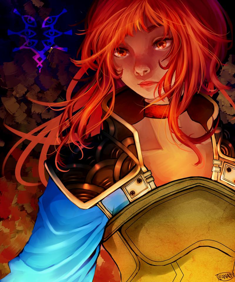 Myrmidon Robin by AnamNesisX