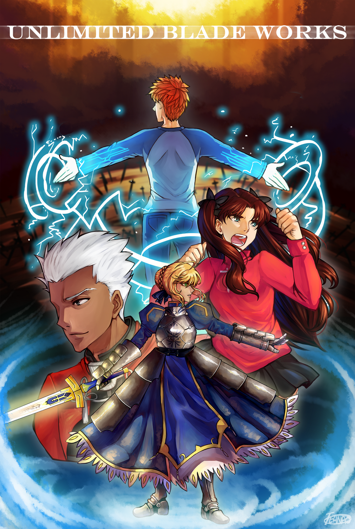 [Unlimited Blade Works] by AnamNesisX