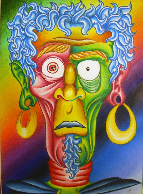 Crazy Face Man by Jakmunky on DeviantArt