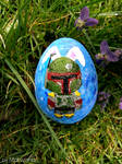 Boba Fett Bunny Easter Egg (Star Wars)