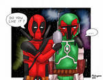 Boba Fett meets Deadpool
