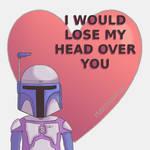 Jango Fett Valentine's day card by MahiyanaCarudla