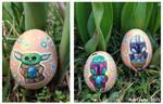 The Mandalorian, Boba Fett, Baby Yoda Easter Eggs by MahiyanaCarudla
