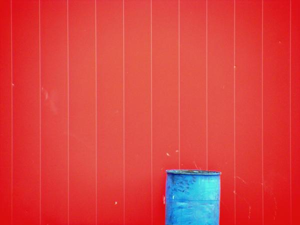 Urban  Oddities- Red Blue