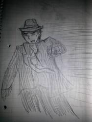 Butler - Action Pose by Kinjo-Goldbar