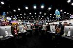 Artist's Alley, Comic Con 2012