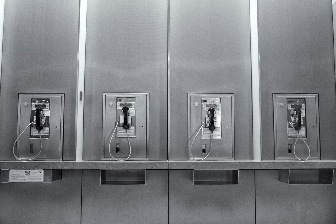 Pay Phones by xraystyle