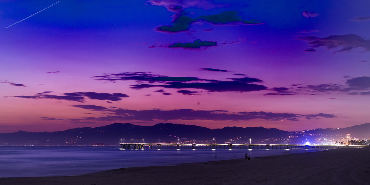 Venice Pier Sunset by xraystyle