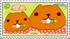 Kapibara-san stamp! by Makarii