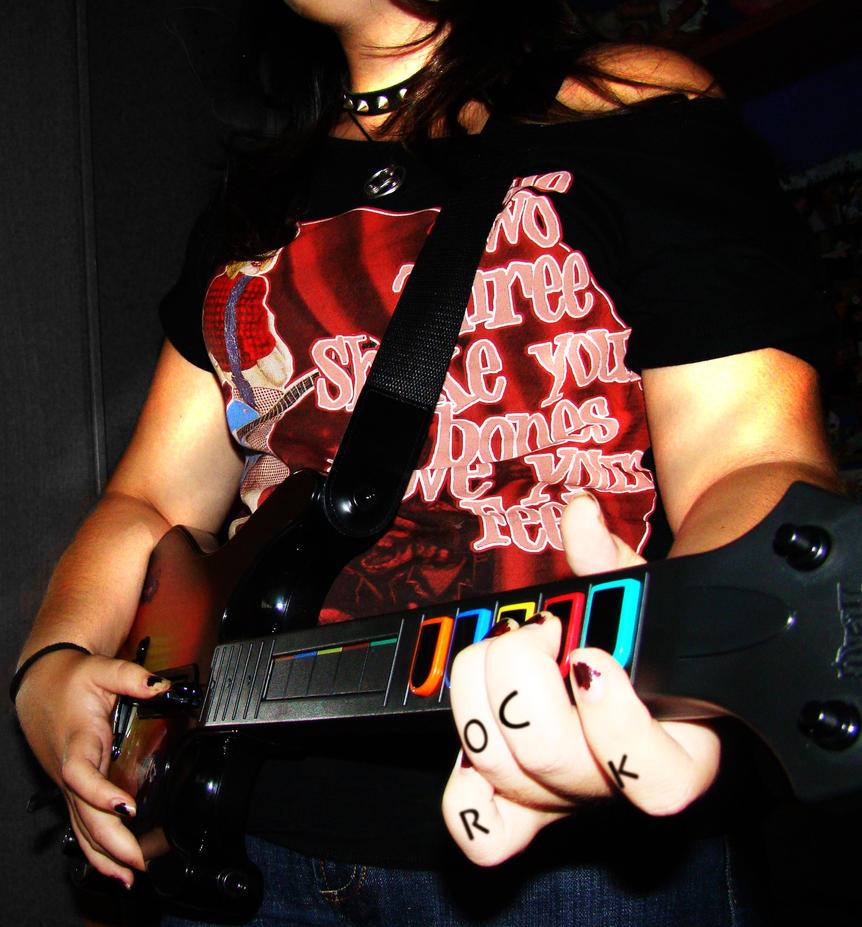 She Will Rock U by Albarose7
