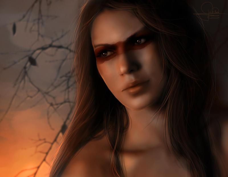 -Bear shaman- by darklaela