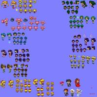 PacSenshi Characters and NPCs by JATGProductions