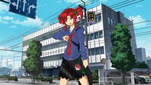 Persona 4 Style Makoto's Mother Kishiko Color by JATGProductions