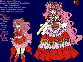 Reference Sheet - Magical Thief Princess Neo Heart by JATGProductions