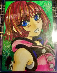 Kairi from Kingdom Hearts 3
