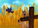 Scarecrow Perch
