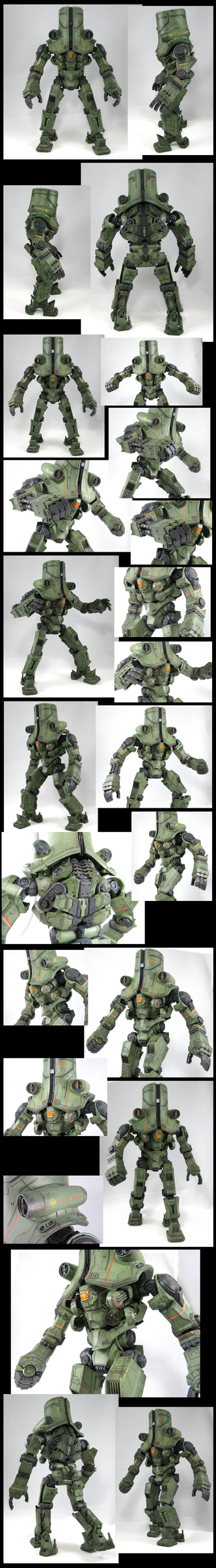 Cherno Alpha - Plamax Model kit - Painted build by Zeurel