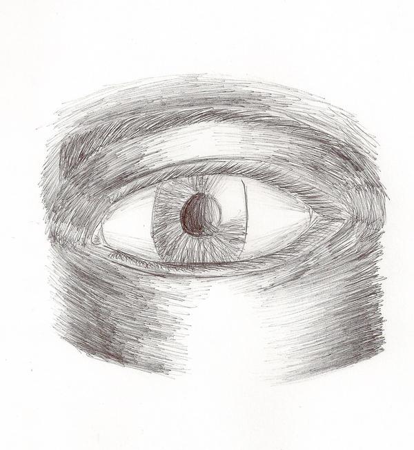Open Eye sketch :D by ...