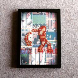 Castlevania pixel bead sprite by caveofpixels