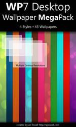 WP7 Desktop Wallpaper Megapack by blnkdsgn
