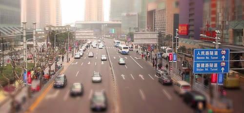 Tilt Shift Time-lapse Action by blnkdsgn