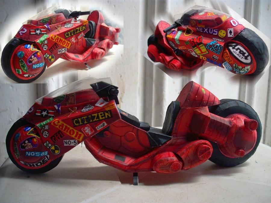 Akira kaneda s bike by christopherdepaula