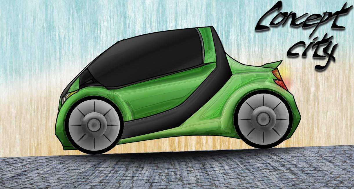 Concept City Minicar by christopherdepaula