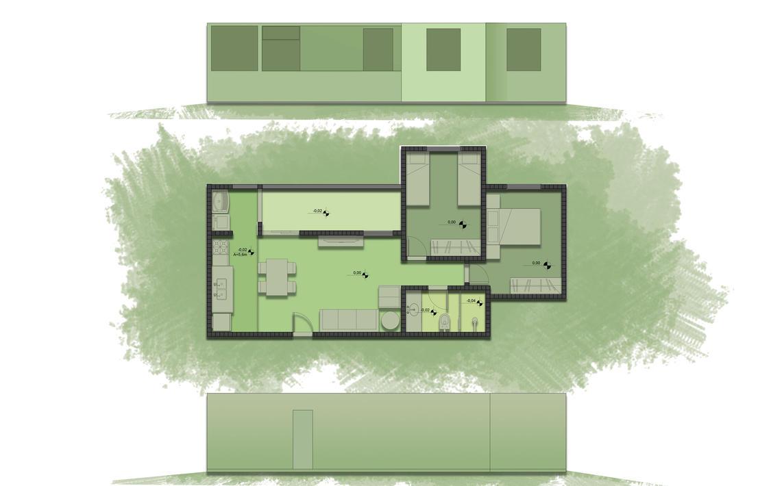 Apartamento tipo humanizado by christopherdepaula