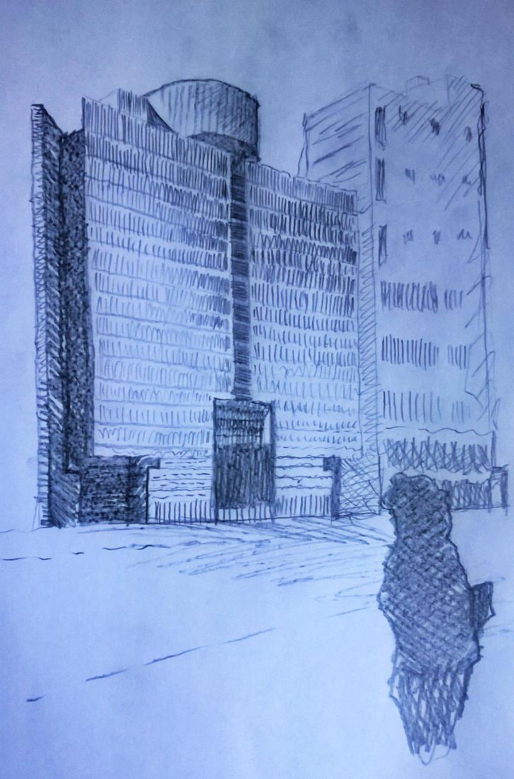 Mario Botta Buiulding by christopherdepaula