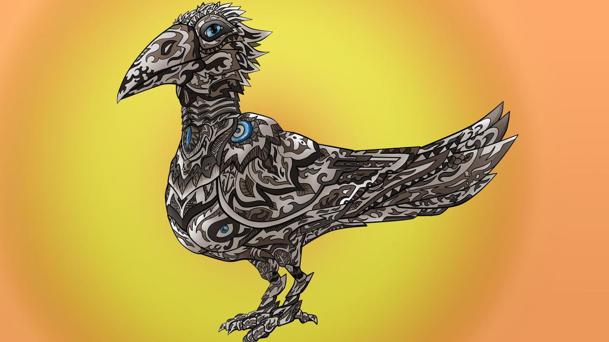 Maori Bird by christopherdepaula