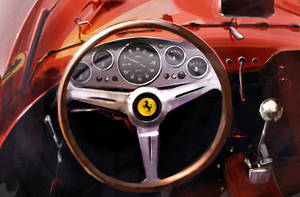 Ferrari interior by arisong